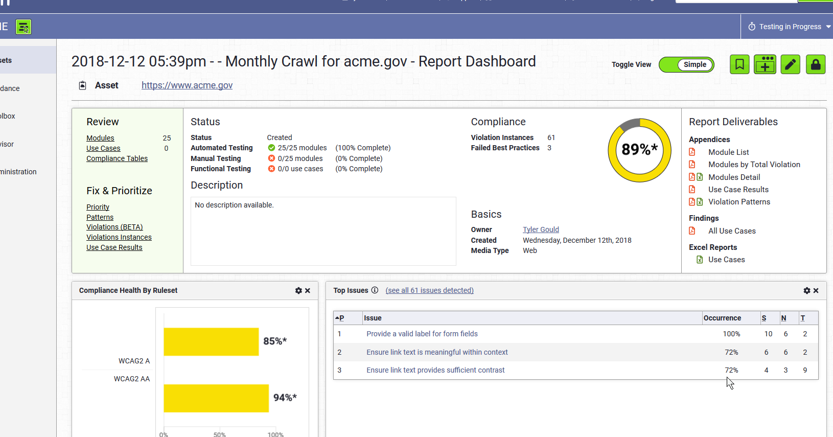 Screen Shot of the Report Dashboard.png